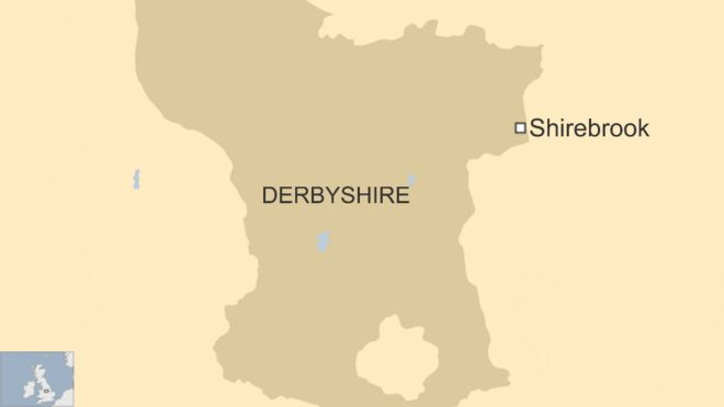 Map Of England Derbyshire.Two Women Are Found Dead At A House In Shirebrook Bbc News