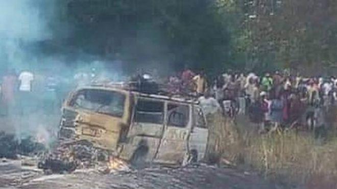 Dozens die in petrol tanker blast in Nigeria - BBC News