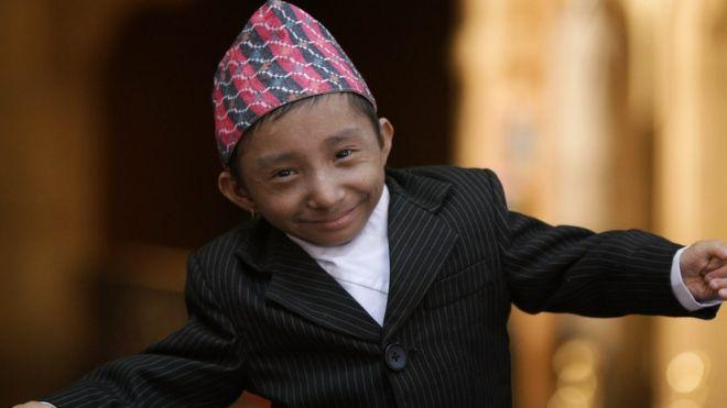 Khagendra Thapa Magar visits New York City on 7 September 2010.