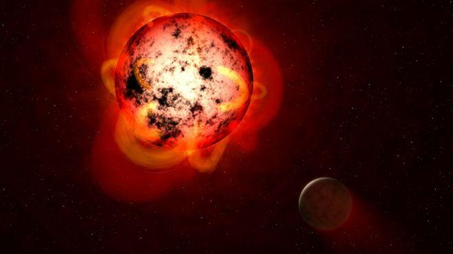 """El descubrimiento de dos """"súper Tierras"""" en un sistema planetario cercano  al sistema solar - BBC News Mundo"""