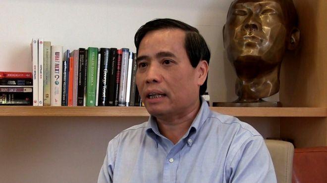 Tiến sỹ Vũ Minh Khương, hiện là thành viên của Tổ tư vấn Kinh tế cho Thủ tướng Việt Nam
