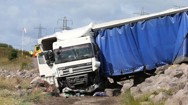 Driver killed in Prince of Wales Bridge lorry crash named