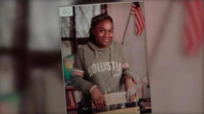 Sandra Parks Anti Gun Student 13 Killed By Stray Bullet Bbc News