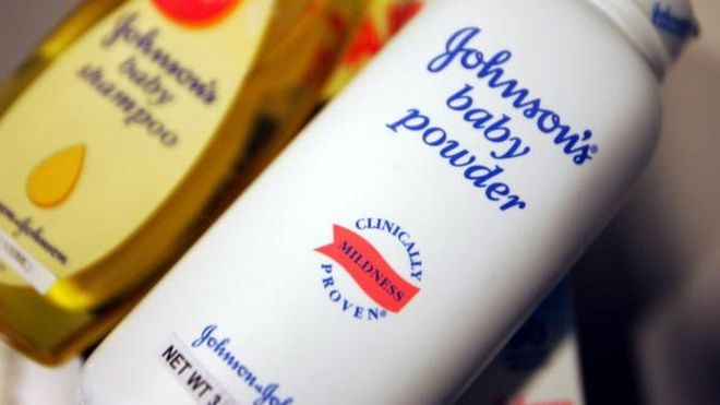 Johnson & Johnson ordered to pay $110m in US talc cancer case #JohnsonandJohnson #talc