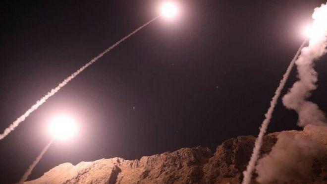 إيران تقصف البوكمال في سوريا