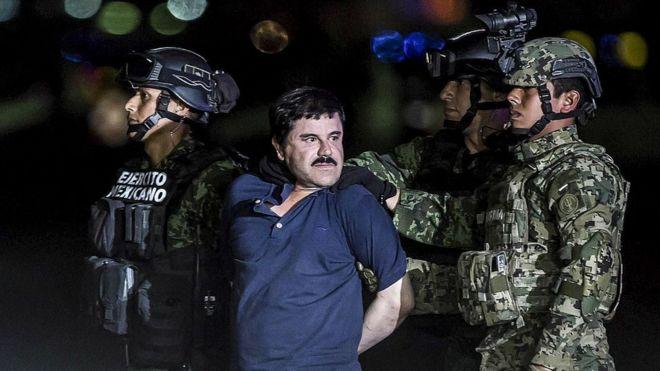 """""""El Chapo"""" Guzmán detenido"""