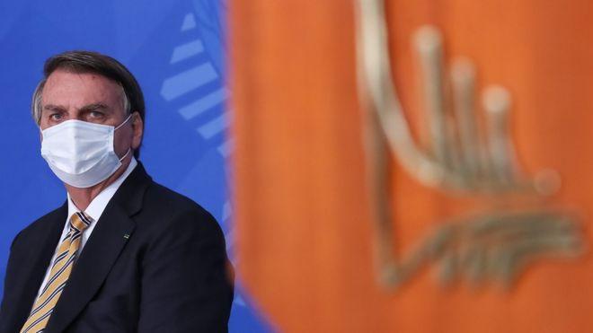 Bolsonaro em evento em Brasília em junho de 2021