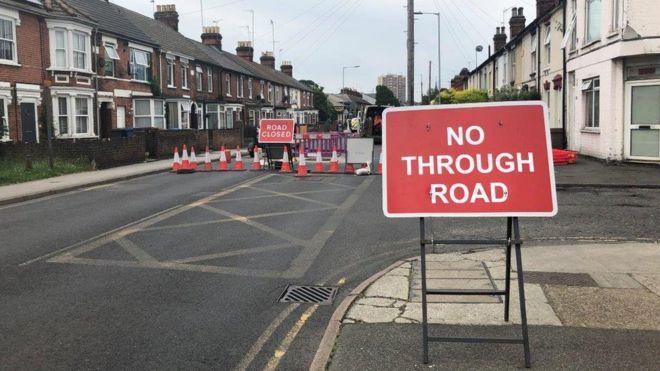 Ipswich Bramford Road: Sewer repairs to close road until