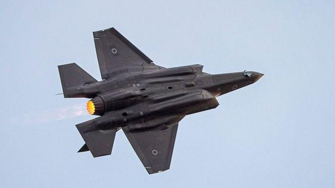 اسرائیل: اولین عملیات رزمی اف-۳۵ در جهان را انجام دادیم