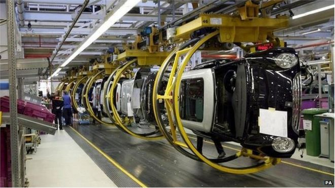 uk car manufacturing hits 10-year high in 2015 - bbc news