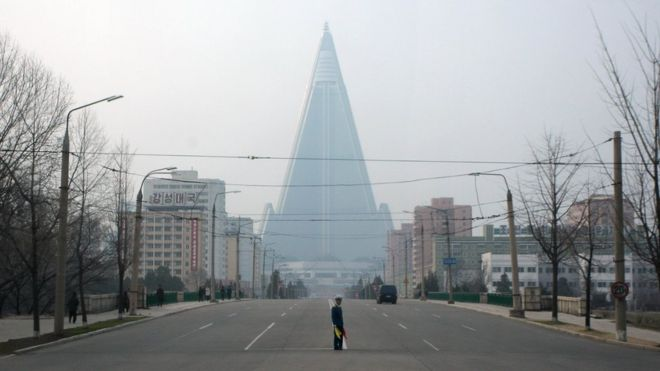 Hotel Ryugyong, 2012