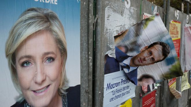 """მარინ ლე პენმა """"ეროვნული ფრონტის""""  პარტიის ლიდერის პოსტი დატოვა"""