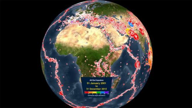 7 Razones Por Las Cuales La Tierra No Sólo Gira Sino Que También Tiembla Y Se Tambalea Bbc News Mundo