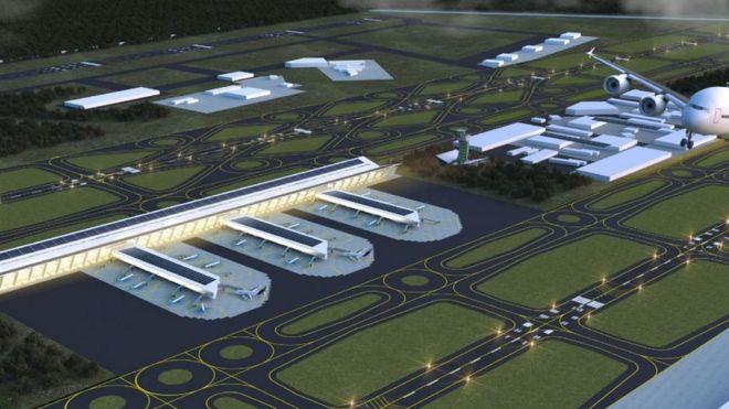 Resultado de imagen para Base Aérea de Santa Lucía