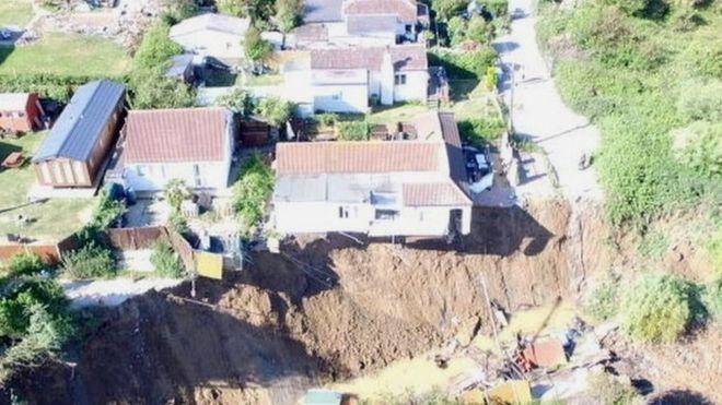 Eastchurch cliff fall