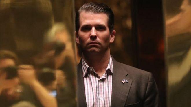 NYT: син Трампа знав, що запропонує російський юрист