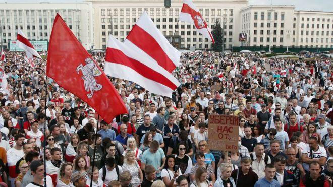 протест на площади Независимости