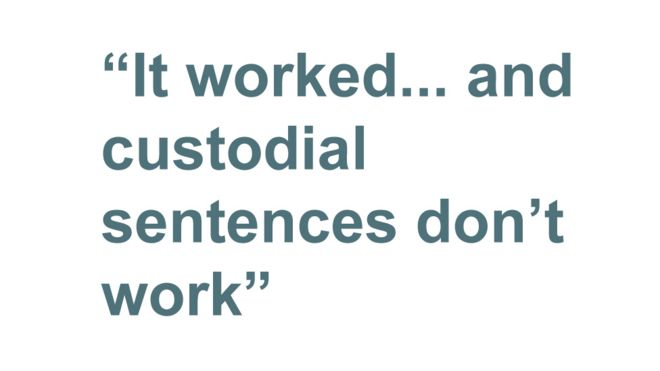 Had served use in sentence