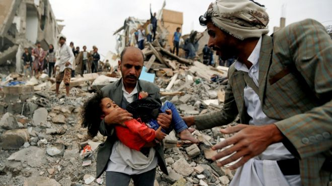 Yemen conflict explained in 400 words - BBC News