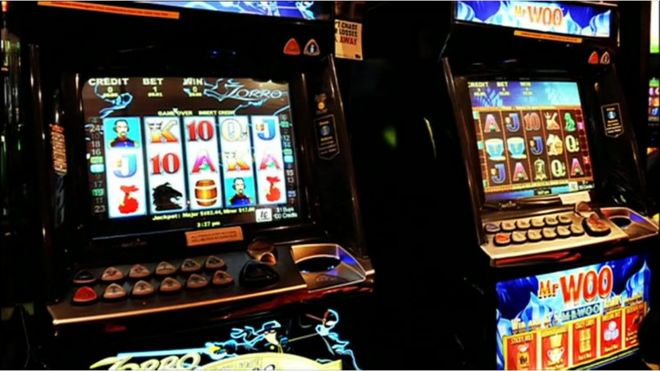 Machine gambling games haunted the game online