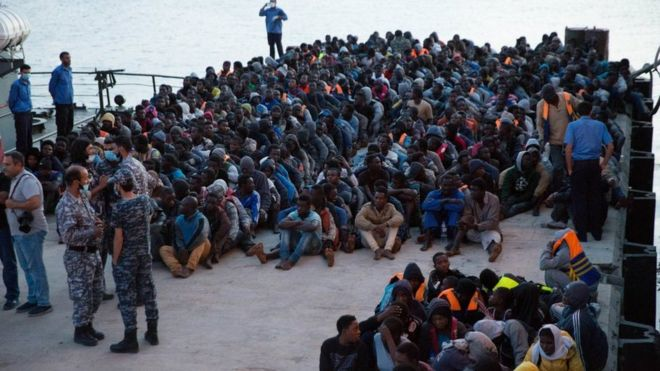 Migrant crisis: Libya opposes EU plan for centres, says
