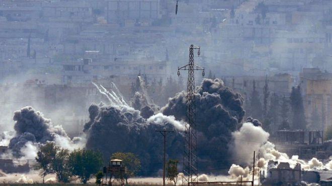 Explosión en Siria.