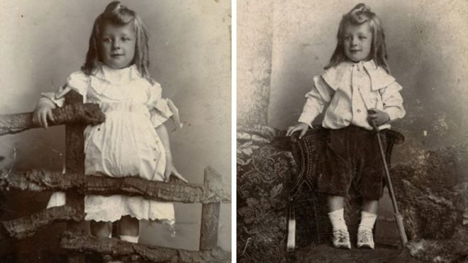 19th century childrens clothes