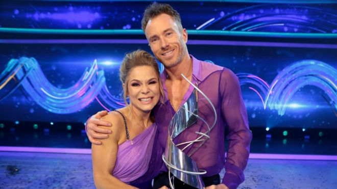 James Jordan Former Strictly Dancer Wins Dancing On Ice Bbc News