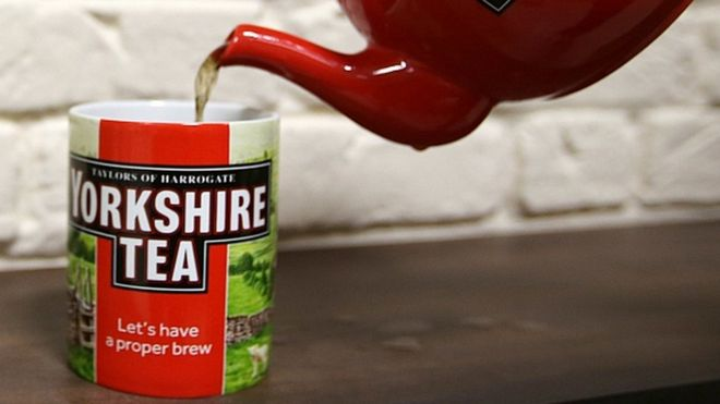 tea drinkers stewing over splitting yorkshire tea bags bbc news