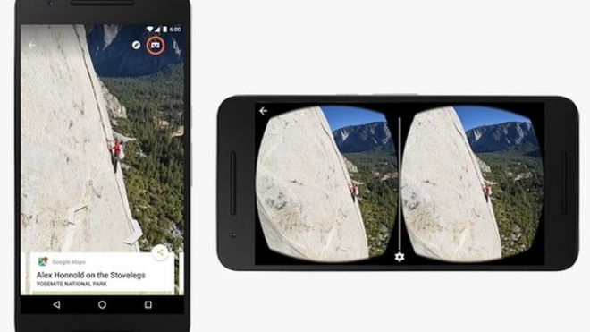 f74a98424cd7 Google offers virtual reality Street View - BBC News