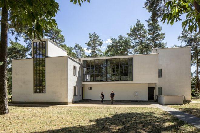 Casas de los maestros de la Bauhaus.