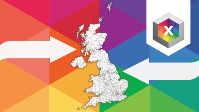 Promo image of map with arrows