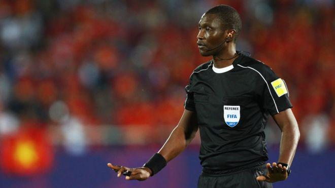 Alioum Sidi bin also referee for di 2014 FIFA World Cup qualifiers