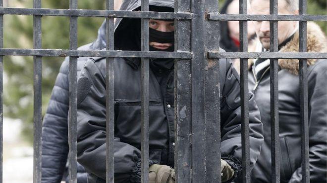 Полицейские во время обыска в музее Рериха в Москве