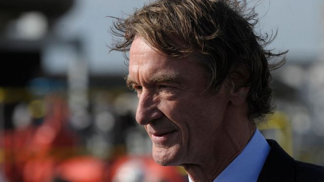 Jim Ratcliffe, founder and chairman of Ineos