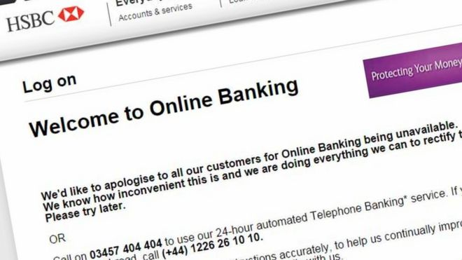 Hsbc online banking is attacked bbc news personal banking sciox Gallery