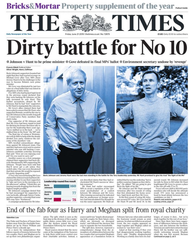 The Times Friday
