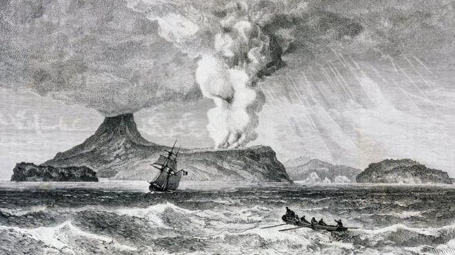 Letusan Krakatau Yang Menewaskan Puluhan Ribu Orang Dan