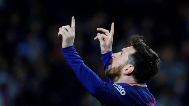 Los científicos que comprobaron lo que ocurre en Barcelona cada vez que Messi marca un gol