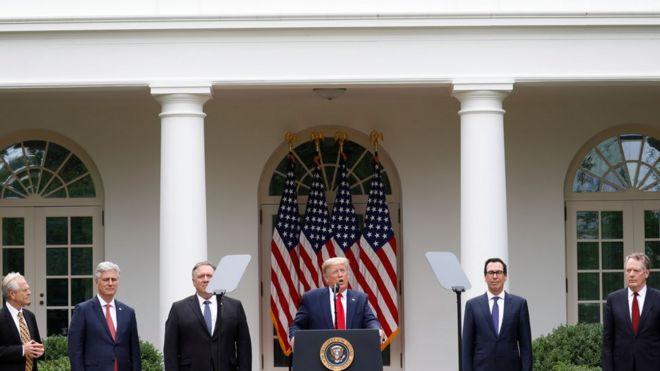 Tổng thống Mỹ Donald Trump họp báo ngày 29/5