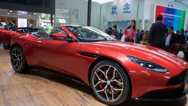 Aston Martin Revs Up For London Listing BBC News - Aston martin news
