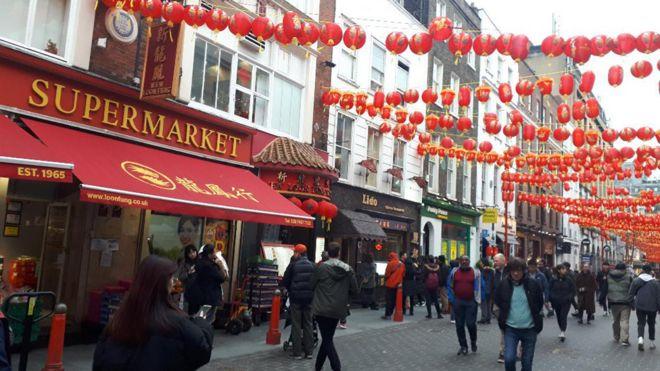 Gerrard Street in Chinatown