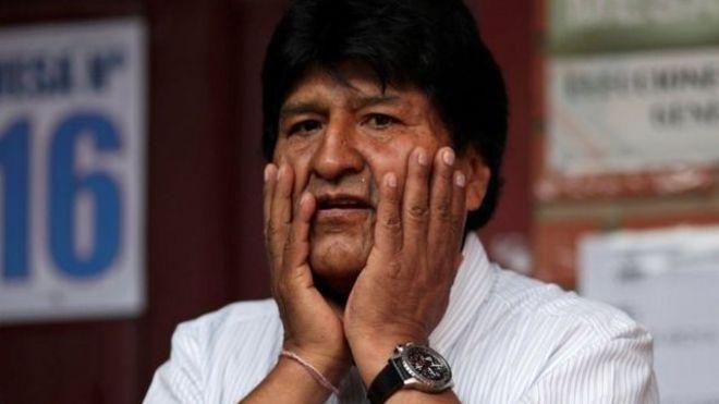 مورالس اولین بومی در بولیوی است که به ریاست جمهوری می رسد
