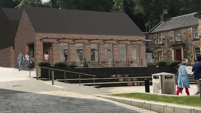 e1d4af60565 Plan for new Fort William cinema go on display - BBC News
