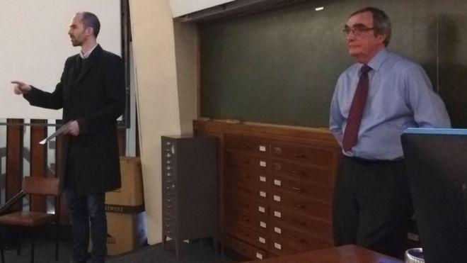 James Brackley and Roger Godsiff MP