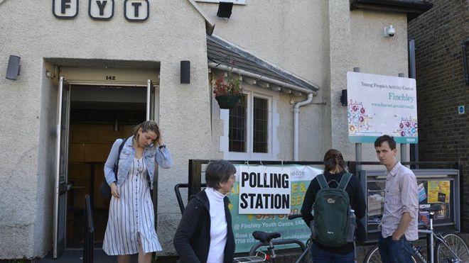 избирательный участок Ист-Финчли