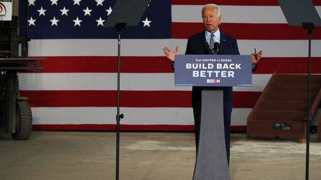 جو بایدن با ارائه طرح اقتصادی 'خرید آمریکایی' ترامپ را به چالش کشیده است