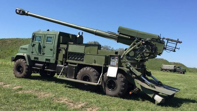 Картинки по запросу фотографии новой украинской самоходной артиллерийской установки «Богдана».