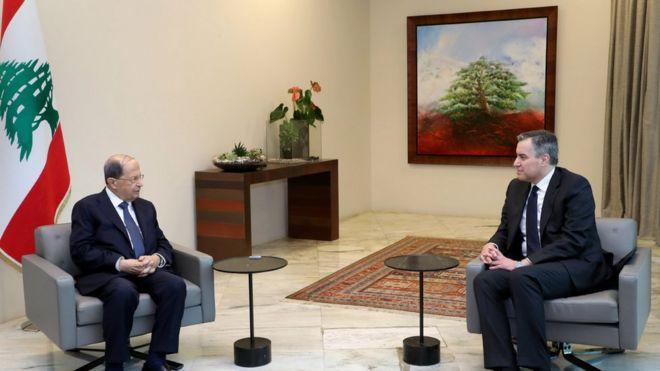 إديب التقى الرئيس عون قبل اعلانه الاعتذار