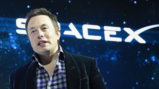 Elon Musk en una conferencia en Silicon Valley